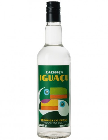 Cachaça Iguaçu Bio Fair Trade 70 cl.