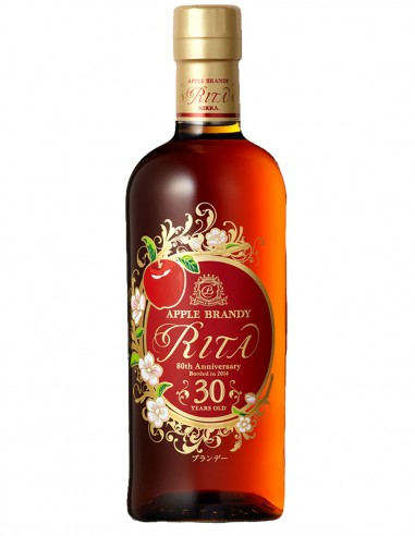 Calvados Nikka Rita Apple Brandy 30 ans 70 cl.