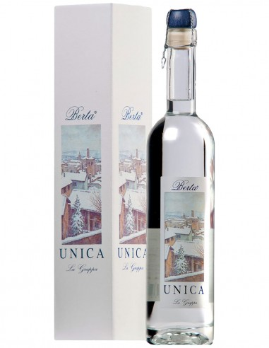 Grappa Berta Unica (Barbera-Pinot Nero) 50 cl.