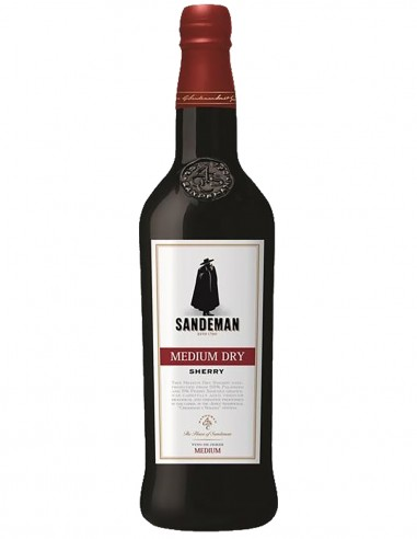 Sherry Sandeman Medium Dry 75 cl.