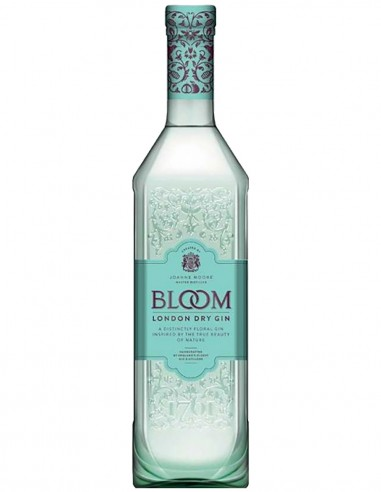 Gin Bloom London Dry 70 cl.
