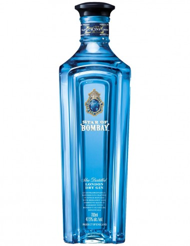 Gin Bombay Sapphire Star of Bombay London Dry 70 cl.