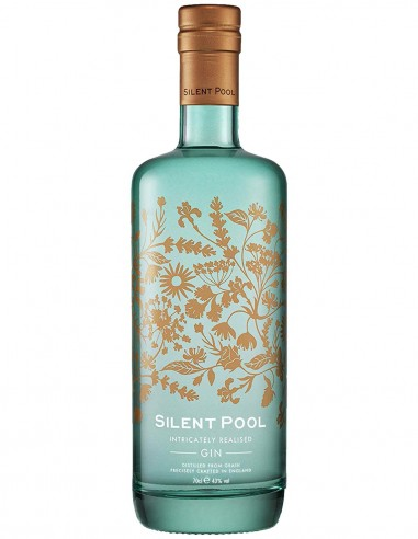 Gin Silent Pool London Dry 70 cl.