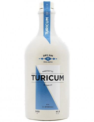 Gin Turicum Dry Small Batch Handcrafted 50 cl.