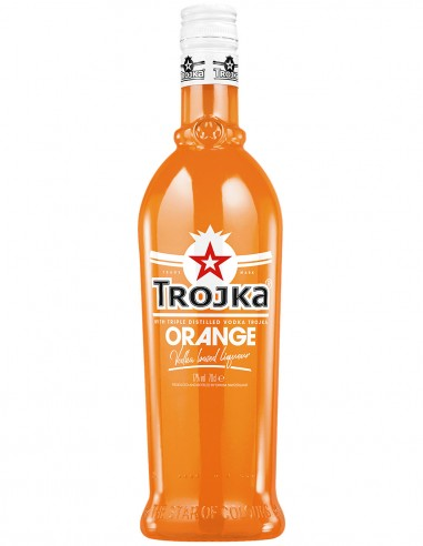 Liqueur Trojka Orange Vodka 70 cl.