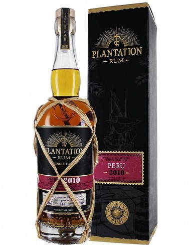 Rum Plantation Trinidad Single Cask Ed. 17 Red Pinneau 15 ans 70 cl.