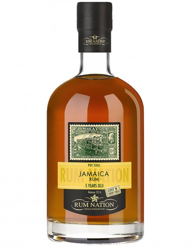 Rum Nation Jamaica 5 ans 70 cl.