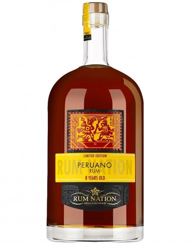 Ron Nation Peruano 8 ans 450 cl.