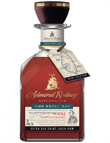 Rum Admiral Rodney Extra Old HMS Royal Oak 12 ans 70 cl.