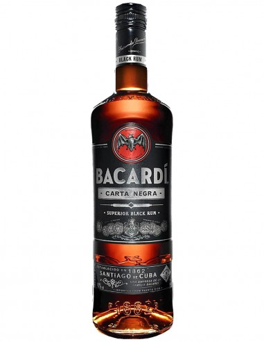 Rum Bacardi Carta Negra Superior Black 70 cl.