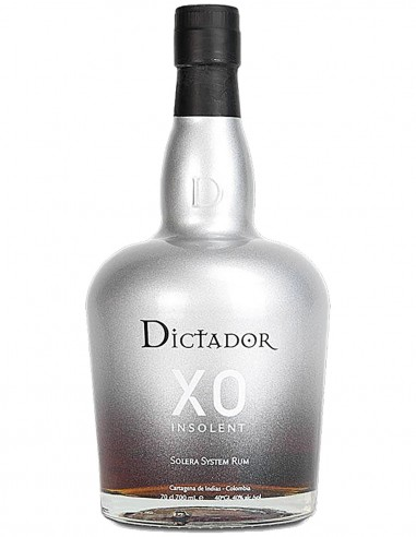 Ron Dictador Colombian XO Insolent 70 cl.