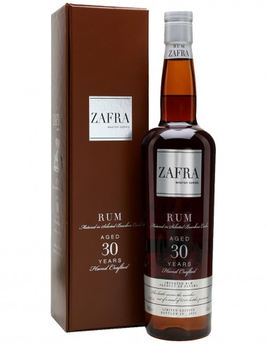 Ron Zafra Master Series 30 ans 70 cl.