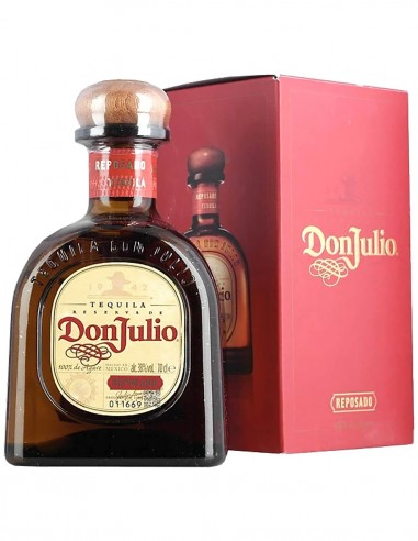 Tequila Don Julio Reposado 100% Agave 70 cl.