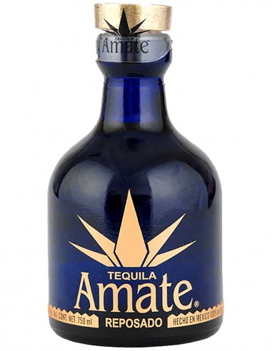 Tequila Amate Reposado 100% Agave 70 cl.