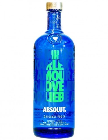 Vodka Absolut Limited Collection 2018 EOY 70 cl.