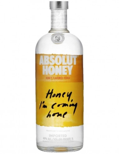 Vodka Absolut Honey 100 cl.