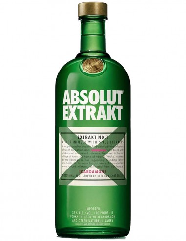 Vodka Absolut Extrakt 70 cl.