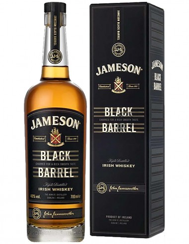 Blended Whiskey Jameson Black Barrel non agé étui 70 cl.
