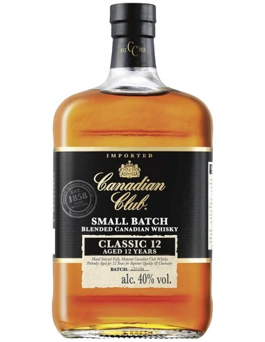 Blended Whisky Canadian Club 12 ans 70 cl.
