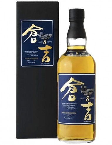 Blended Pure Malt Whisky Kurayoshi 8 ans 70 cl.