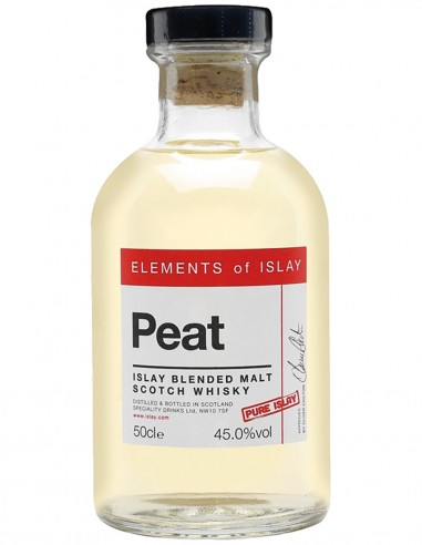 Blended Malt Scotch Whisky Elements of Islay Peat Pure Islay 50 cl.