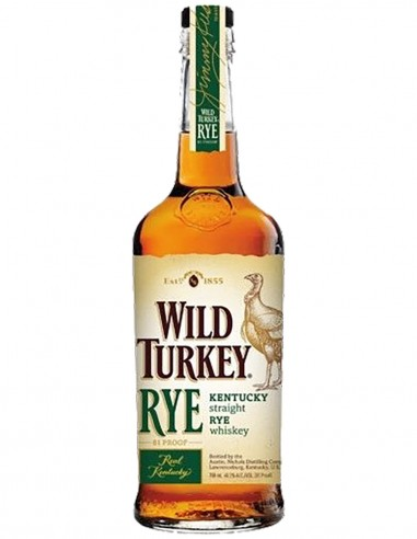 Straight Rye Whisky Wild Turkey Kentucky 70 cl.