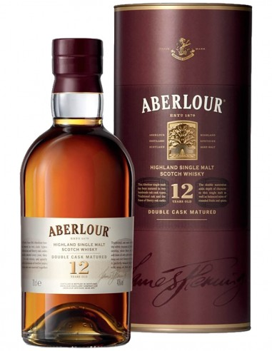 Single Malt Scotch Whisky Aberlour Double Cask Matured 12 ans étui 70 cl.