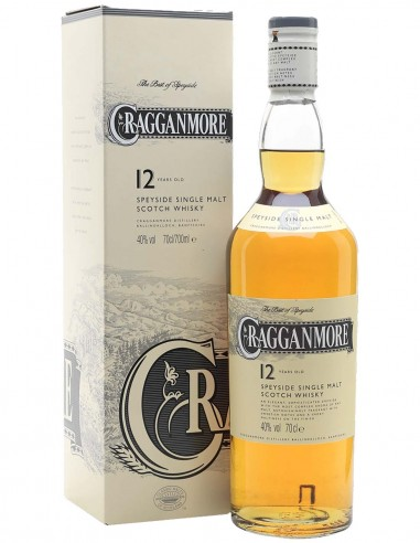 Single Malt Scotch Whisky Cragganmore Classic 12 ans 70 cl.