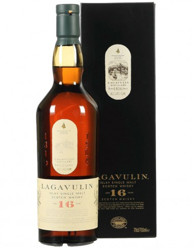 Single Malt Scotch Whisky Lagavulin 16 ans Classic 70 cl.