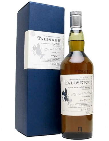 Single Malt Scotch Whisky Talisker 25 ans 70 cl.