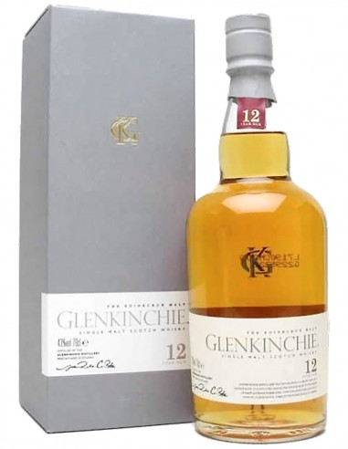 Single Malt Scotch Whisky Glenkinchie Classic 12 ans 70 cl.