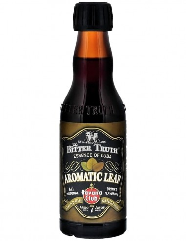 The Bitter Truth Aromatic Leaf Havana Essence 20 cl.