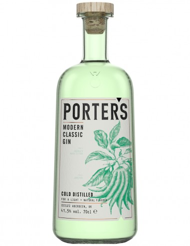 Gin Porter's Modern Classic Dry Gin 70 cl.